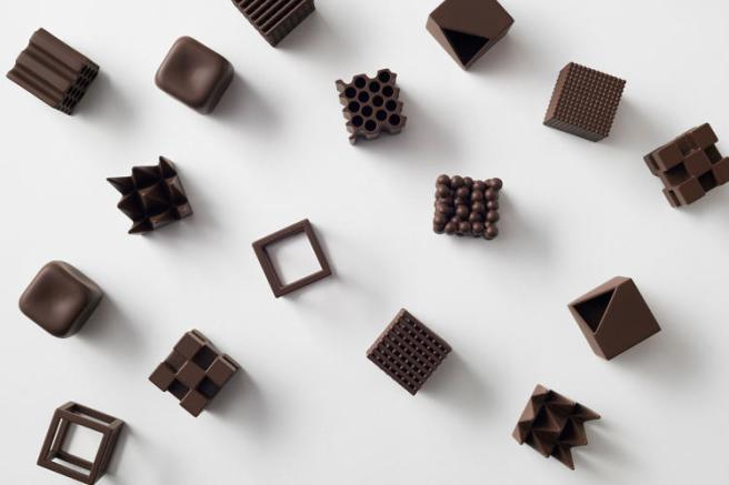 Nendo dark chocolate bonbons