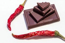 Dark Chocolate and Chili Peppers