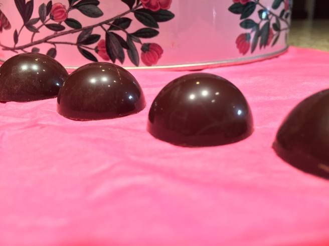 Molded Dark Chocolate Bonbons