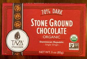 Taza 70% Dark Stone Ground Chocolate