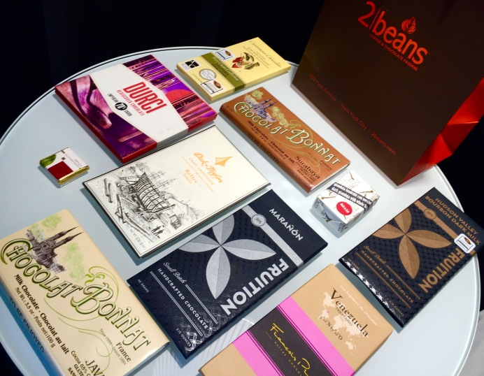 Bean-to-bar artisan chocolate bars