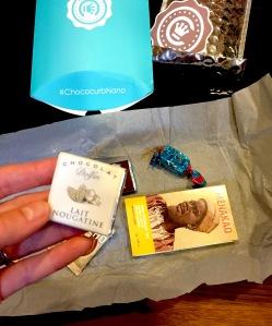 Chococurb's Nano subscription chocolate box