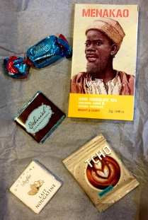 Selection of mini chocolates from Chococurb